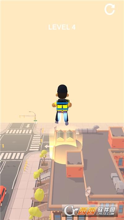 喷气机飞翔游戏截图1