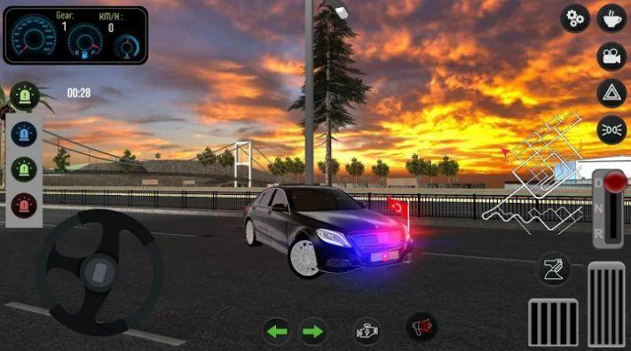 帕萨特警车驾驶截图2