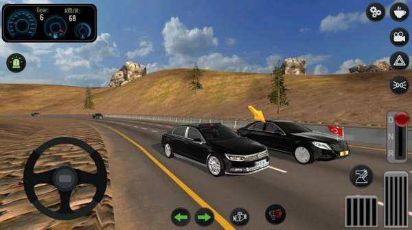 帕萨特警车驾驶