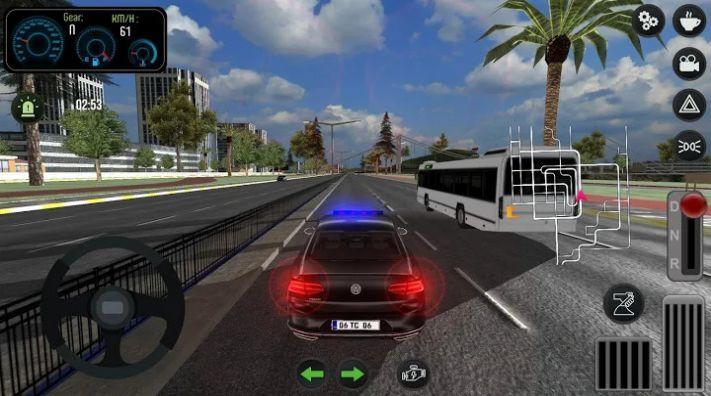 帕萨特警车驾驶截图1