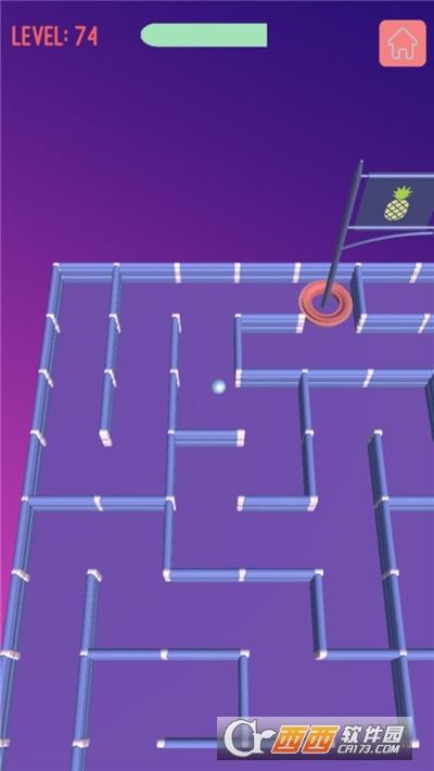 迷路的小球游戏截图0