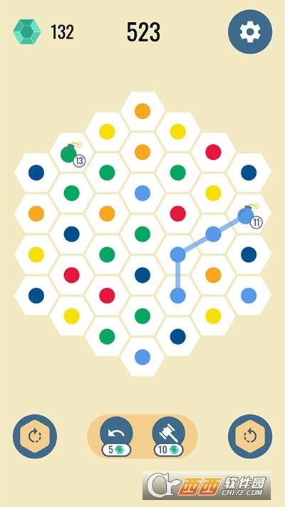 六角点点截图3