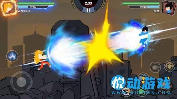 火柴人超级龙影战截图2