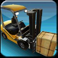 小小叉车模拟运输
